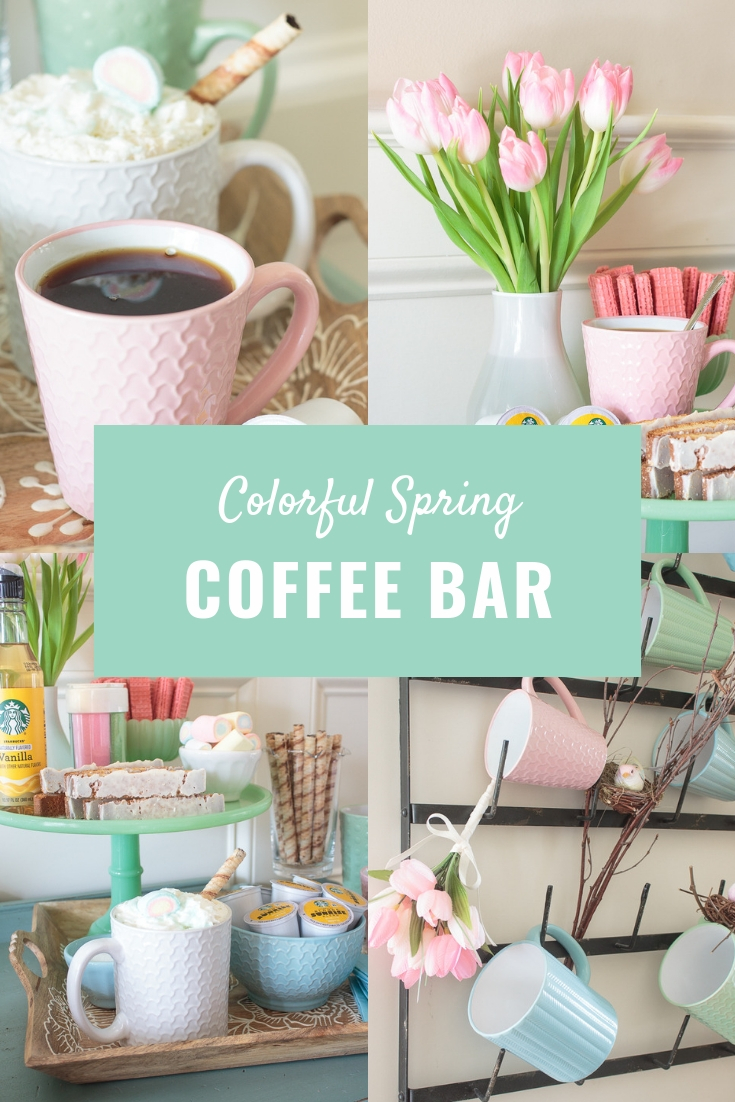 Spring Coffee Bar And Mug Rack Ideas Decorations