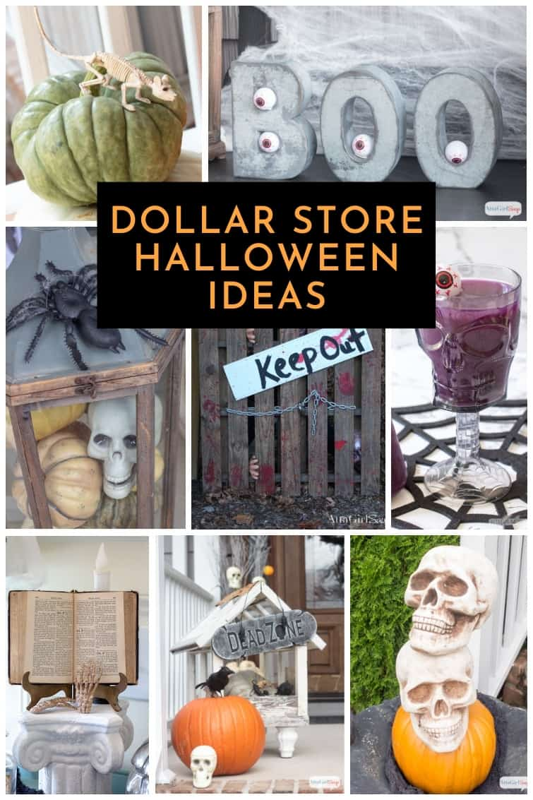 Dollar Store Halloween Decorations Cheap Scares Indoors Out